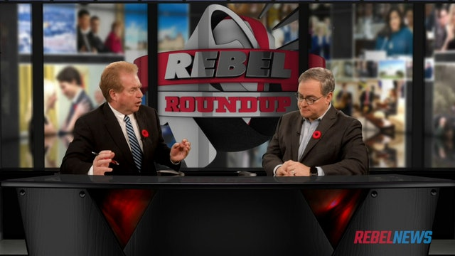 Rebel Roundup (Nov 01 2019): David Menzies with Sheila Gunn Reid & Ezra Levant