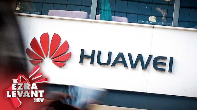 Ezra Levant Show (Dec 4 2019) Ban Chinese spy telecom giant Huawei from Canada