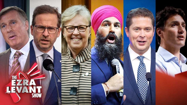 Ezra Levant Show (Oct 21 2019) It's finally election day in Canada
