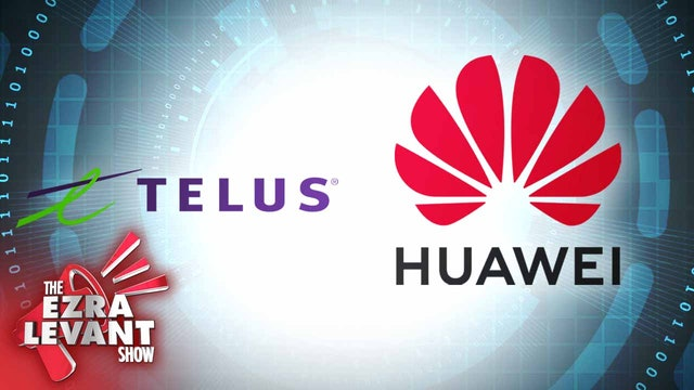 Ezra Levant (Feb 14 2020) China's Huawei building 5G with Telus