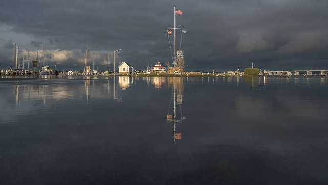 High Tide in Dorchester