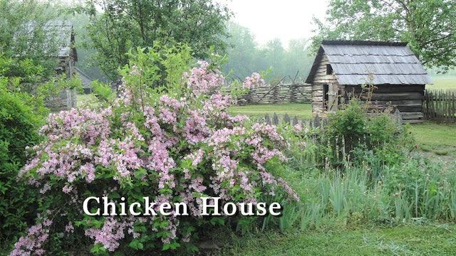The Mountain Farm Museum in the Great Smoky Mountains National Park
