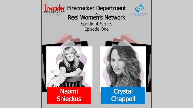 Firecracker Dept. Podcast/ Crystal Chappell