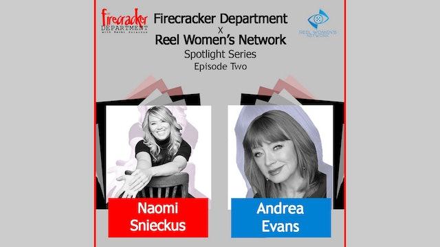 Firecracker Dept. Podcast / Andrea Evans