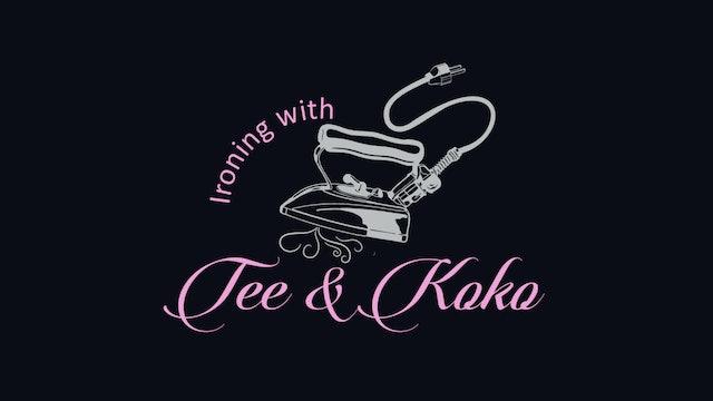 Ironing with Tee & Koko