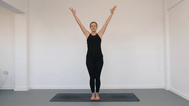 Breath with movement - Pranayama
