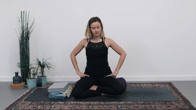 How to sit - Pranayama