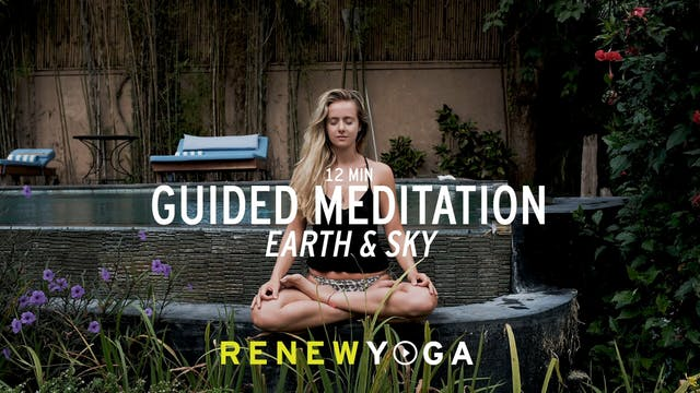 Earth and sky - Meditation