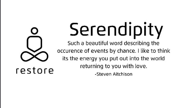 Serendipity (extended)