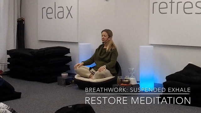 BreathWork (Pranyama) Suspended Exhale