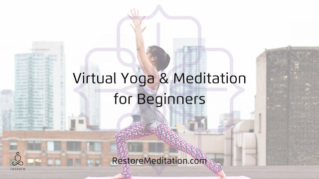 Yoga and Meditation for Beginners 3may20