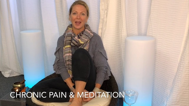 Chronic Pain & the Benefits of Meditation