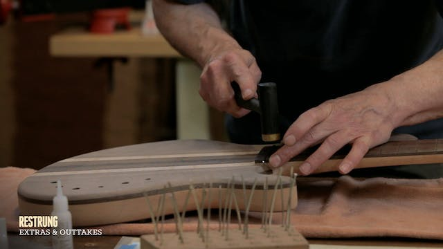 How to Build... - Step #14 - Fretting a Bass