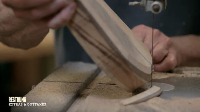 How to Build... - Step #7 - Sculpting the Body Wings on a Bandsaw