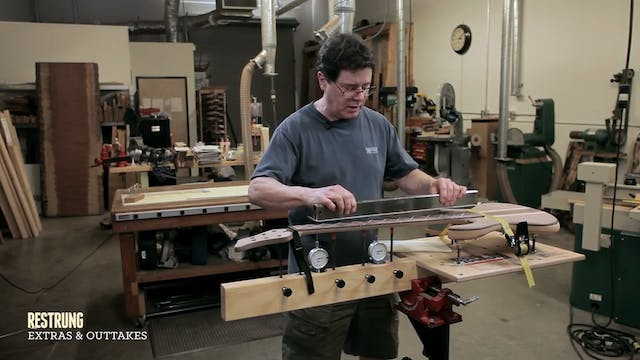 How to Build... - Step #13 - Leveling the Fretboard