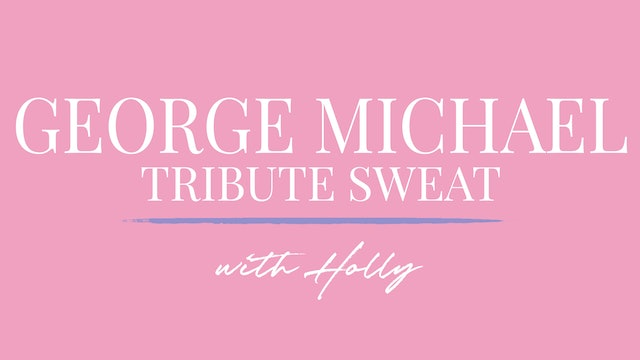 Retrosweat Routine George Michael Tribute with Holly