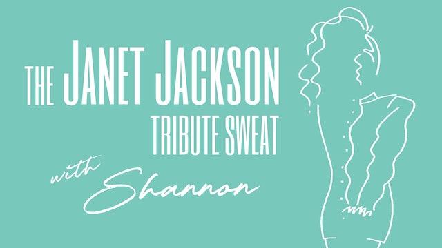 JANET JACKSON BIRTHDAY SWEAT WITH SHANNON
