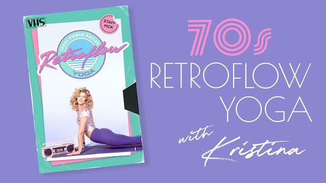 Retroflow 1970s edition with Kristina