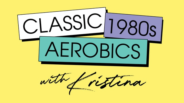 Saturday '80s mixtape sweat with Kristina