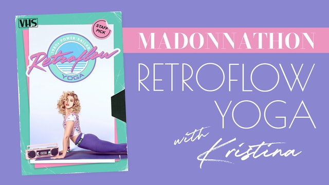 Retroflow Madonna tribute with Kristina