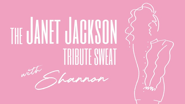 JANET JACKSON BIRTHDAY SWEAT WITH SHANNON AND HOLLY