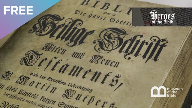 Christopher Saur - Luther's German Bible | Heroes of the Bible