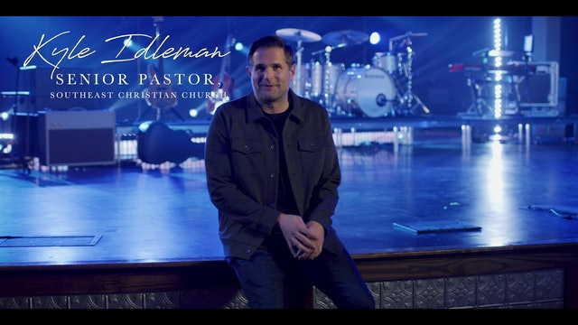 BONUS   Message to Pastors from Kyle Idleman