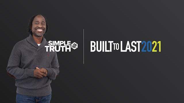 Built to Last | Pastor Benjamin Smith | Sunday, 01.17.21