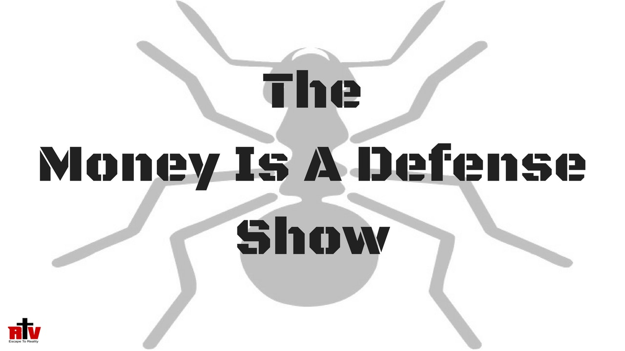 """Money Is A Defense"" w / John Sidney Martin Blurred"