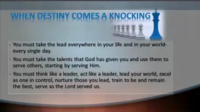 Destiny Knocks