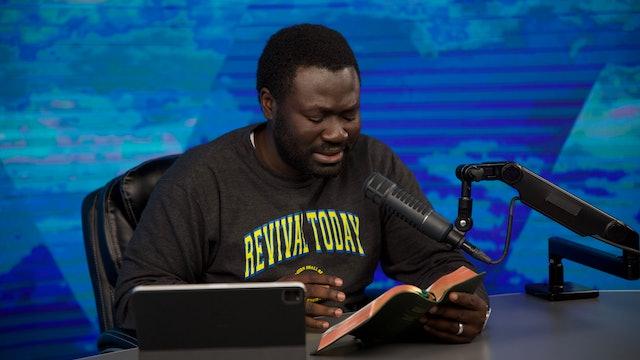 07.12 Morning Prayer with Ev. Kofi