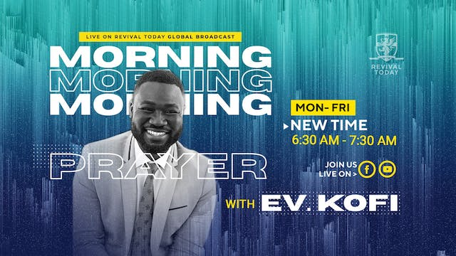 Morning Prayer with Ev. Kofi