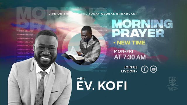 02.22 Morning Prayer with Ev. Kofi