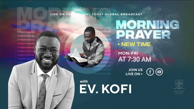 02.25 Morning Prayer with Ev. Kofi