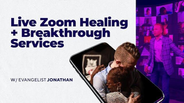 LIVE Zoom Healing Service
