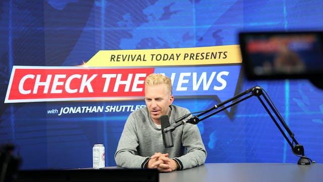 09.08 Jonathan Checks The News with S...