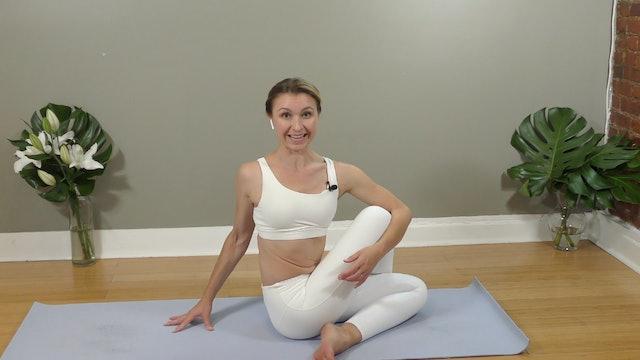 Full Body Yoga Flow : 35 Min.