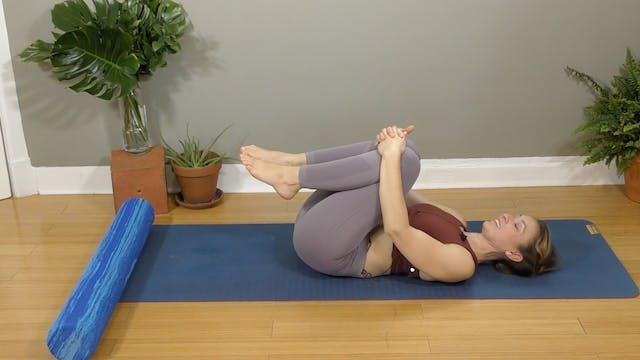 NEW : Roll + Restore Hips, Back + Pel...