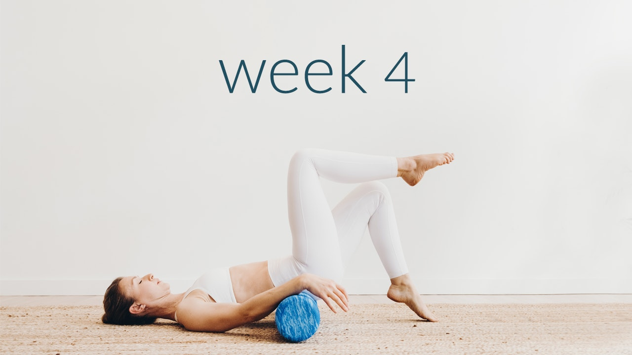 Phase 1: Week 4 Reforming your waist + Side body