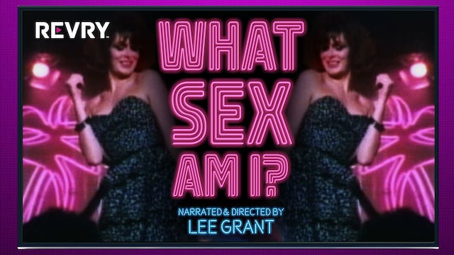 What Sex Am I?