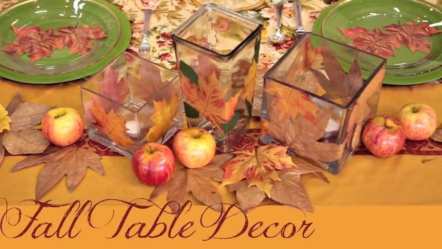 """""""Fall Table Setting Ideas"""""""