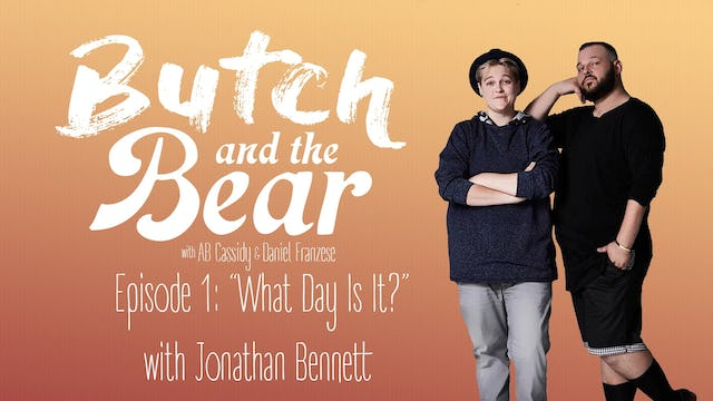 """What Day Is It?"" with Jonathan Bennett"