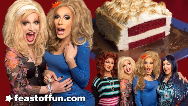 Cooking With Drag Queens - Baked Alaska Thunderf-k with Jinkx Monsoon Sauce