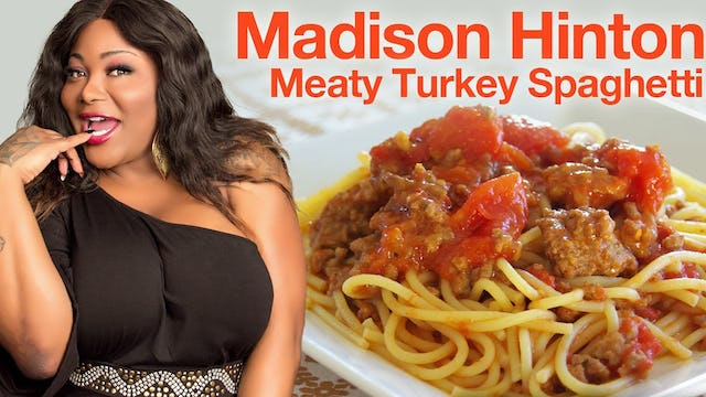 "Cooking With Drag Queens | ""Madison Hinton - Meaty Turkey Spaghetti"""