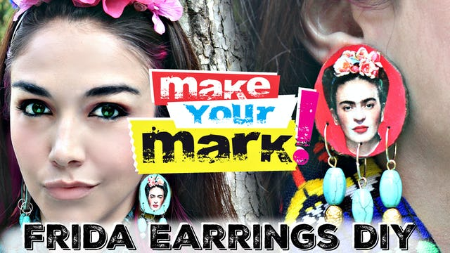 """Frida Kahlo Earrings"""