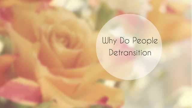 Why Do People Detransition?