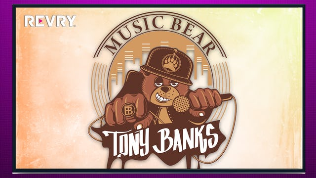 Music Bear Tony Banks