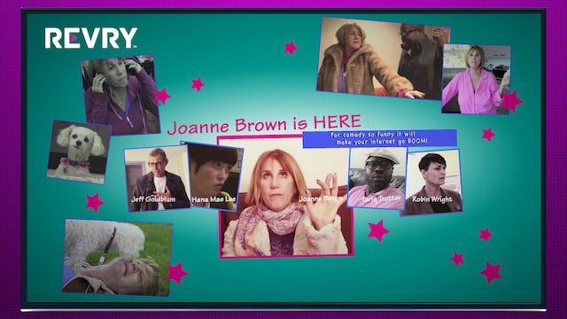 Joanne Brown is HERE