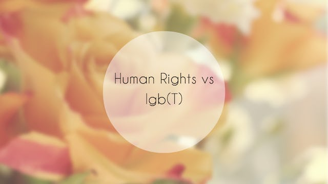 Human Rights vs LGBT Rights