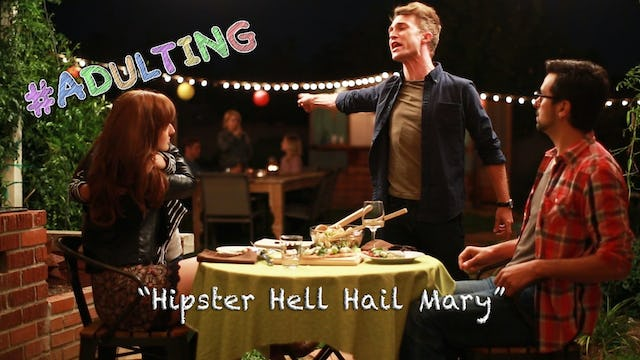 """Hipster Hell Hail Mary"""